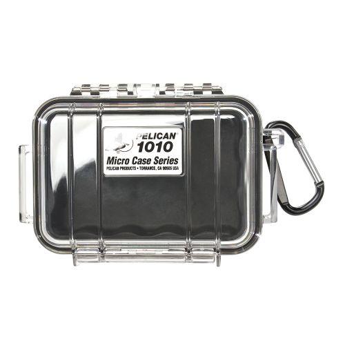 PELICAN 1010 透明黑 微型氣密箱