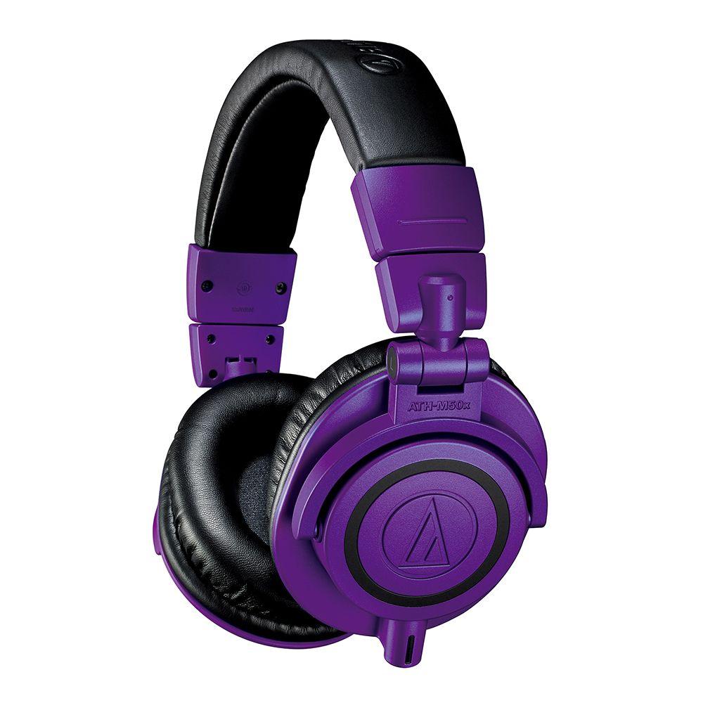 鐵三角 ATH-M50xPB 特別版 專業監聽 耳罩式有線耳機