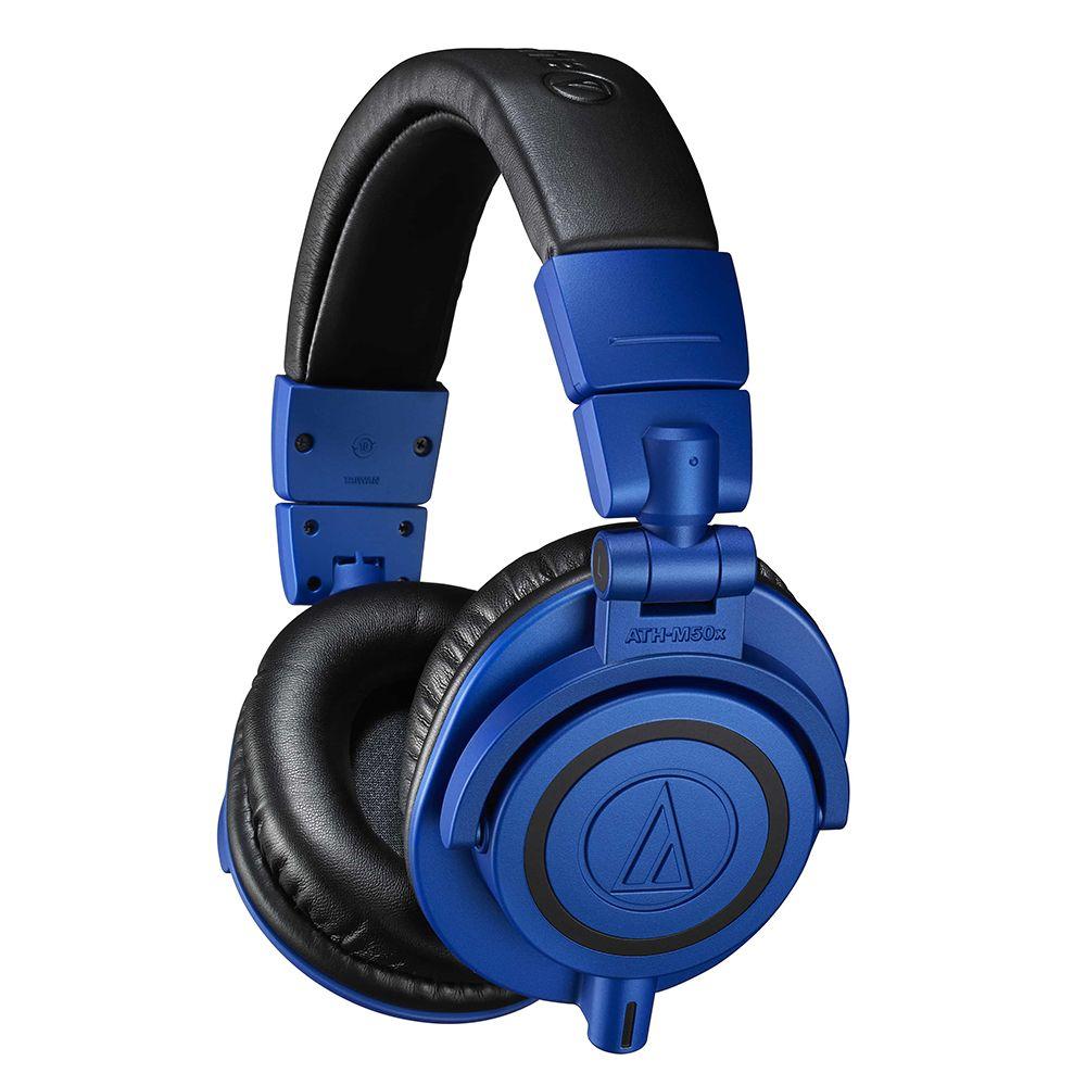 鐵三角 ATH-M50xBB 群青色 耳罩式耳機