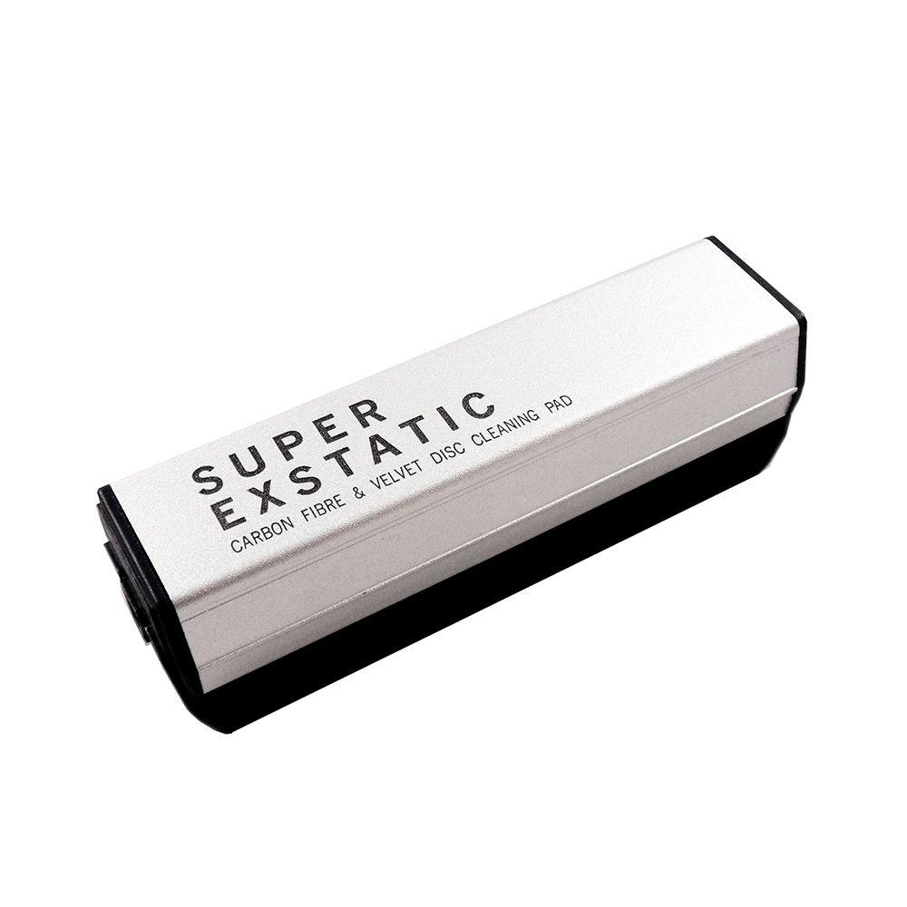 SUPER EXSTATIC 碳纖維抗靜電黑膠唱片清潔刷