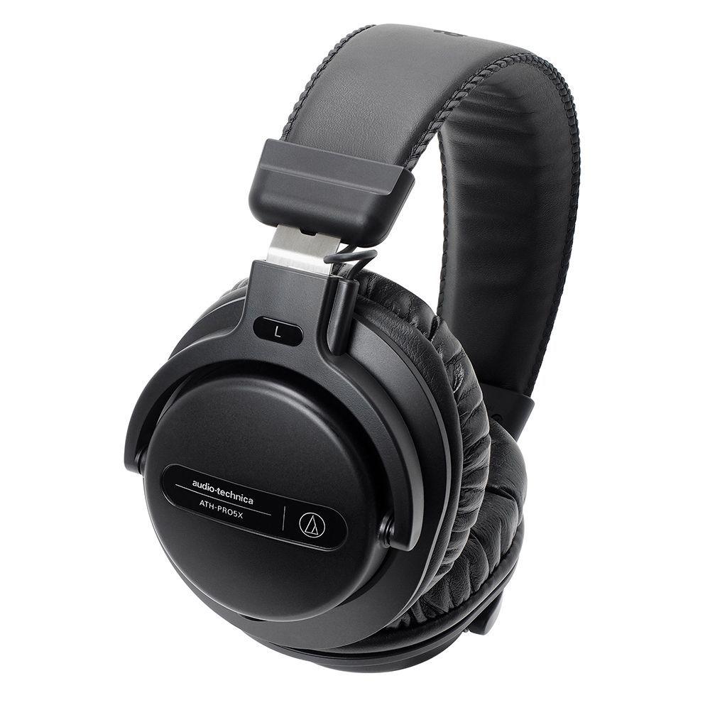 鐵三角 ATH-PRO5X 黑色 專業監聽 耳罩式耳機