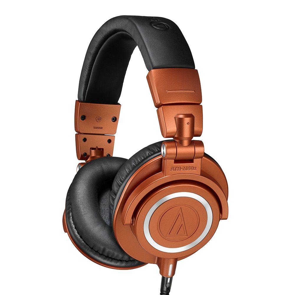 鐵三角 ATH-M50xMO 特別版 專業監聽 耳罩式耳機